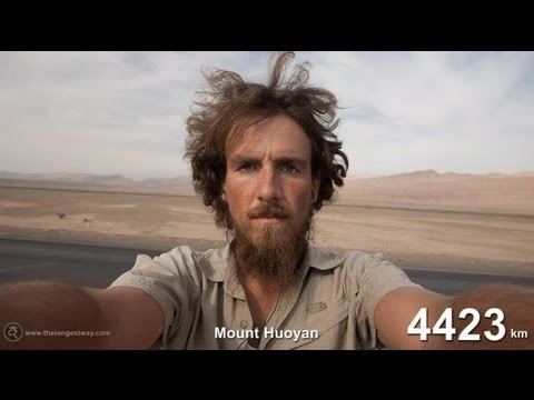 A One-Year Time Lapse Of Hitchhiking And Beard-Growing