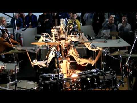 A Robot Covers The Ramones On Drums