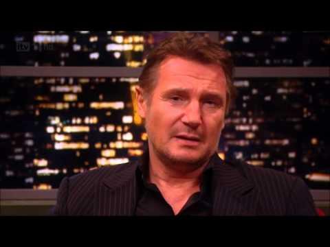 Liam Neeson Reads Bieber Hits