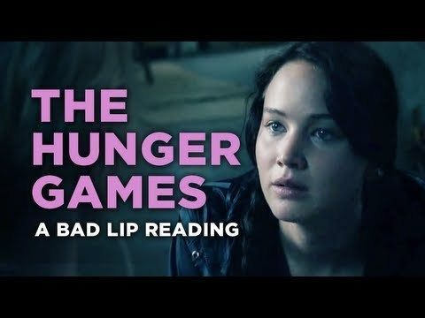 Video thumbnail for youtube video A Bad Lip Reading Of The Hunger Games