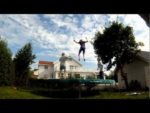 Video thumbnail for youtube video Awesome Trampoline Freestyling