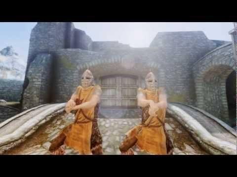 Video thumbnail for youtube video Gangnam Style Skyrim