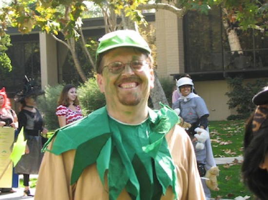Halloween Fail Green Guy