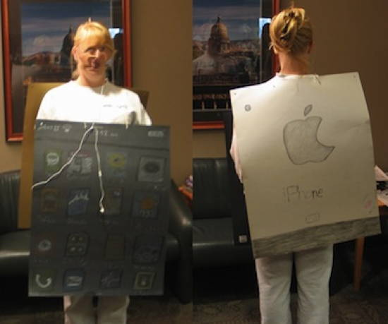 Halloween iPhone Fail Costume