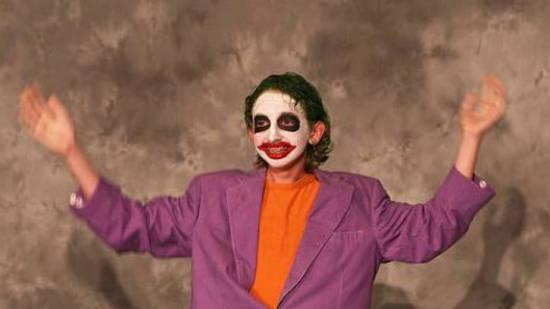 Joker Halloween Fail