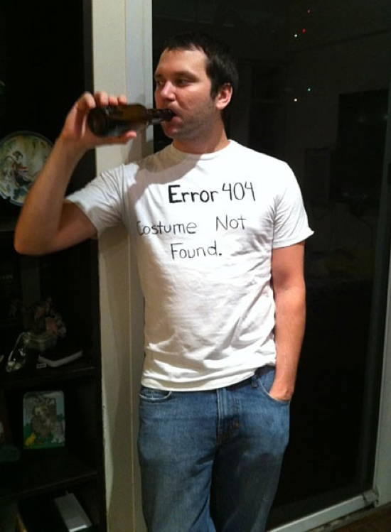 Nerd Halloween Costume Fails