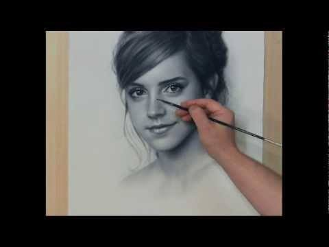 Video thumbnail for youtube video Incredible Speed Portraits