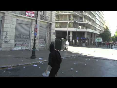Video thumbnail for youtube video Riots From A Protestor's Perspective
