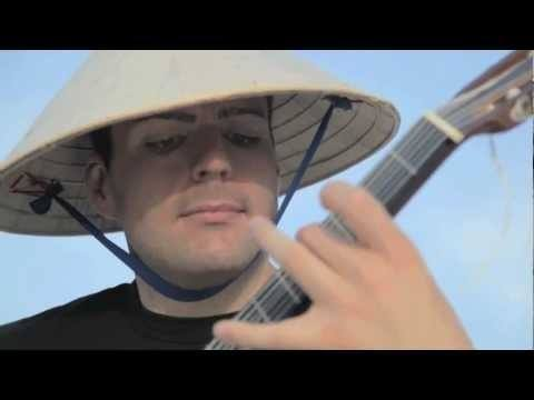 Video thumbnail for youtube video Rocking Out On A Guitar Strung With Floss
