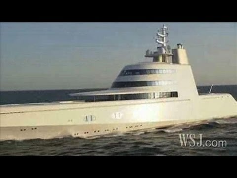 Entering The $300 Million Yacht Of A Russian Billionaire
