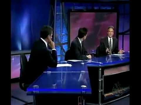 Steve Carell And Stephen Colbert Spar On Religion