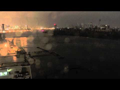 A Time Lapse Of Hurricane Sandy