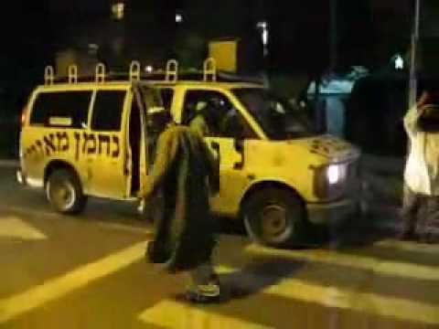 Techno Dancing Hasidic Jews