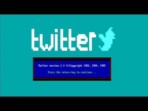 What If Twitter Were Invented In The 1980s?