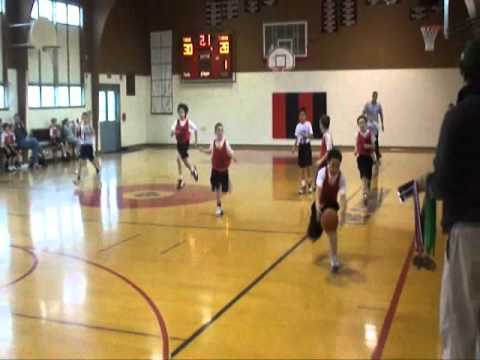 Incredible End To Third Grade Basketball Game