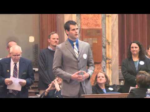19 Year Old Delivers Incredible Speech On Gay Marriage