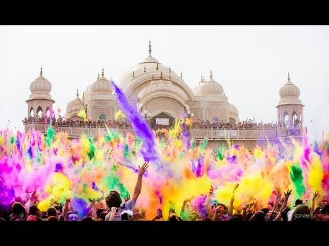 The Beautiful Festival Of Colors
