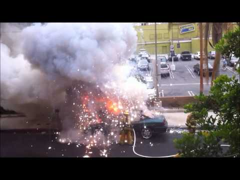 Have You Ever Seen A Car Explode Before?