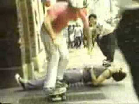 Skateboarding In NYC In 1985