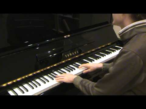 Incredibly Talented Blind And Autistic Pianist
