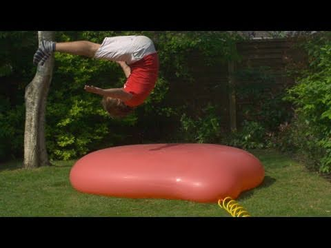 Two Guys And A Six Foot Water Balloon