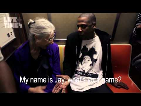 Jay Z Explaining Self To Old Woman