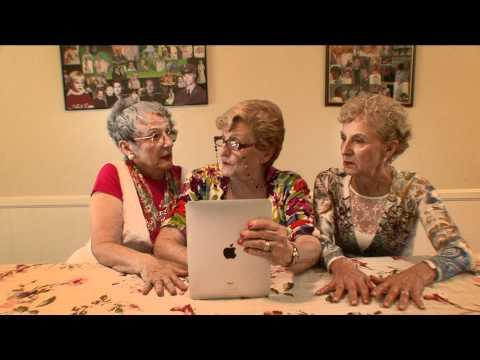 Grandmas Reacting To A 70 Year Old Virgin