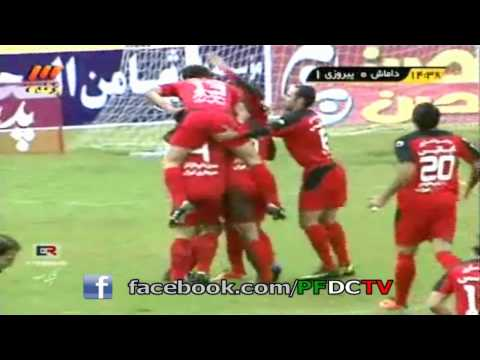 One Very Uncomfortable Goal Celebration