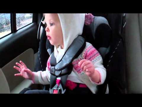 Little Girl Lights Up For Kid Cudi