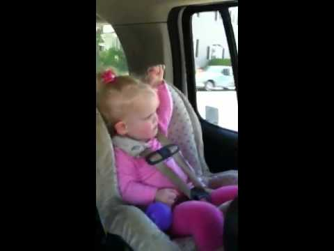 "Little Girl Perfects ""Somebody I Used To Know"""