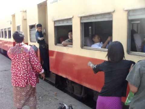 How To Catch A Train In Burma