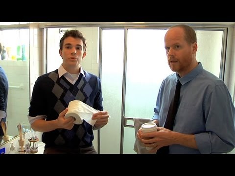 Joss Whedon Teaches Others How To Use The Bathroom