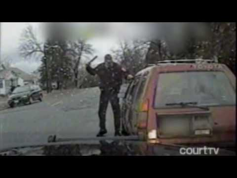 Criminal Thinks He Can Escape By Shooting Cop