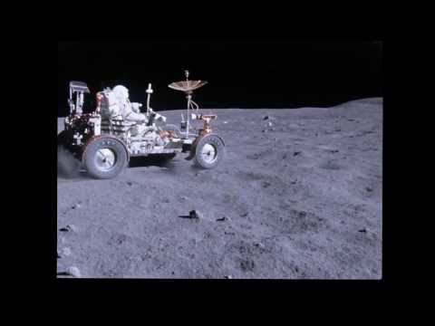 Amazing (And Unseen) Moon Footage