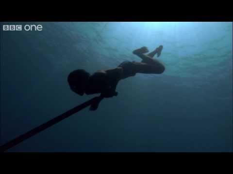 Sea Bed Hunting By A Bajau Fisherman