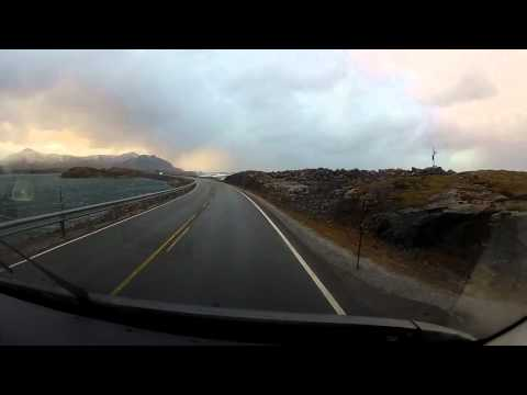 An Amazing Drive In Norway