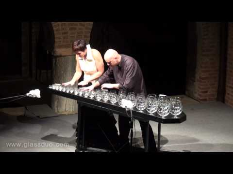 Playing Sugar Plum Fairy On The Glass Harp