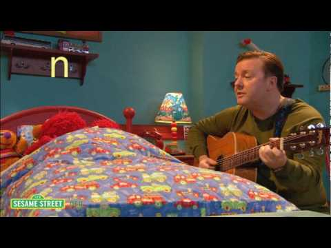 Ricky Gervais Sings Elmo A Lullaby