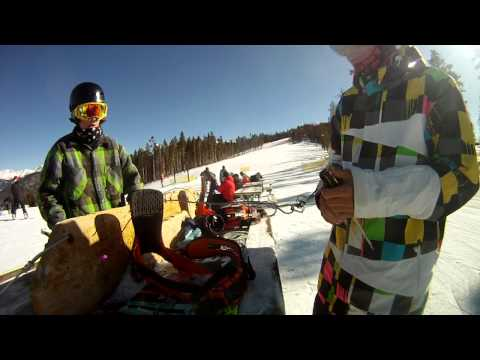Absolutely Incredible Snowboarding Trick