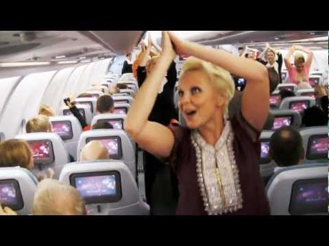 In-Flight Bollywood Dance