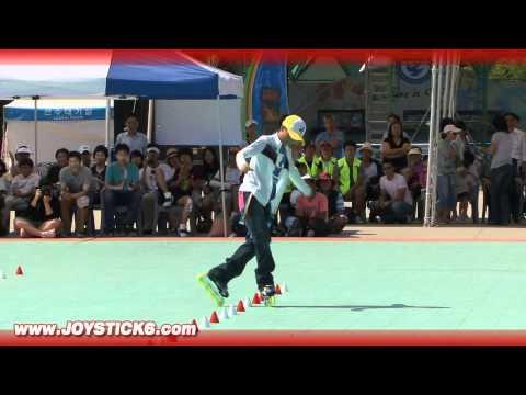Korean Freestyle Rollerblading