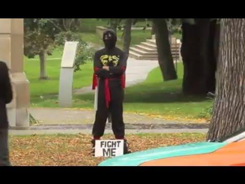 Dare To Fight A Ninja?