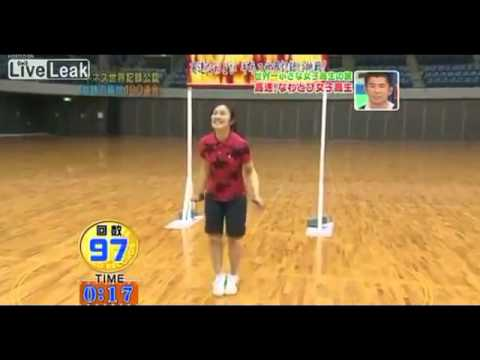 The World Record For Jump Roping