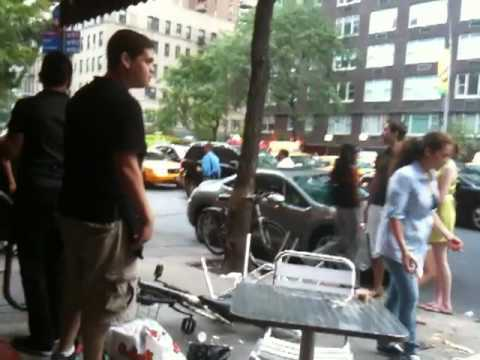 Video thumbnail for youtube video A Brawl Breaks Out At A New York City Restaurant