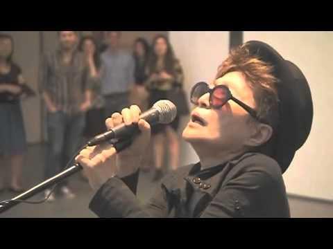 "Video thumbnail for youtube video Yoko Ono Covers Katy Perry's ""Firework"""