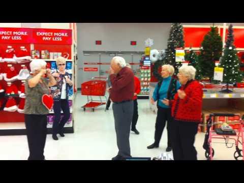 A Senior Citizen Flashmob