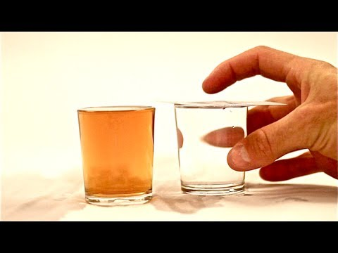 The Whiskey Water Magic Trick
