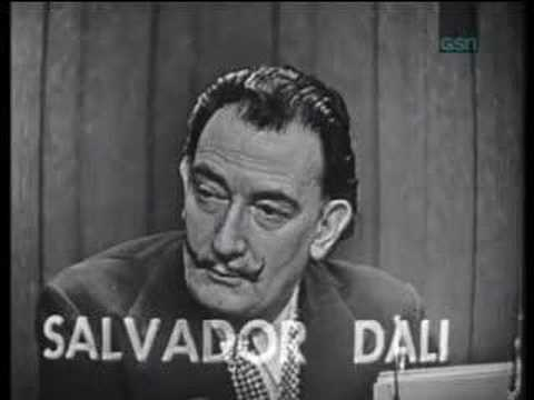 When Salvador Dali Appeared On A Game Show