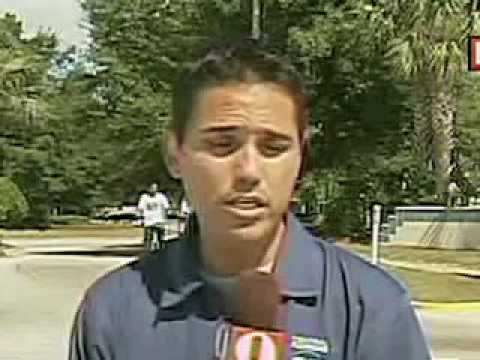 Reporter Doesn't Know How To Say His Own Name