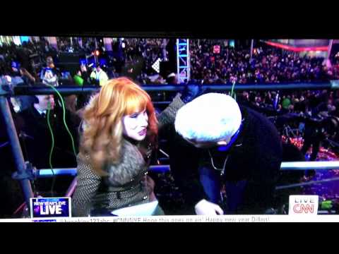 Kathy Griffen Tries To Give Oral Sex To Anderson Cooper
